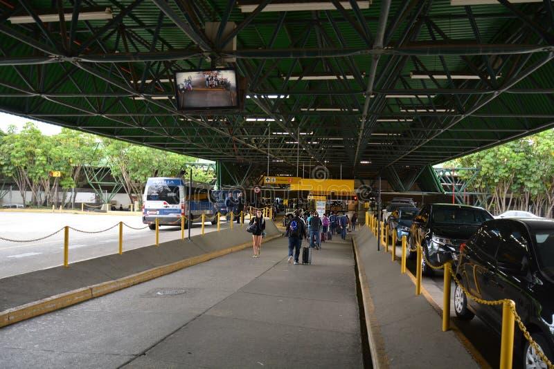 Aeroporto de Guarulhos em São Paulo foto de stock