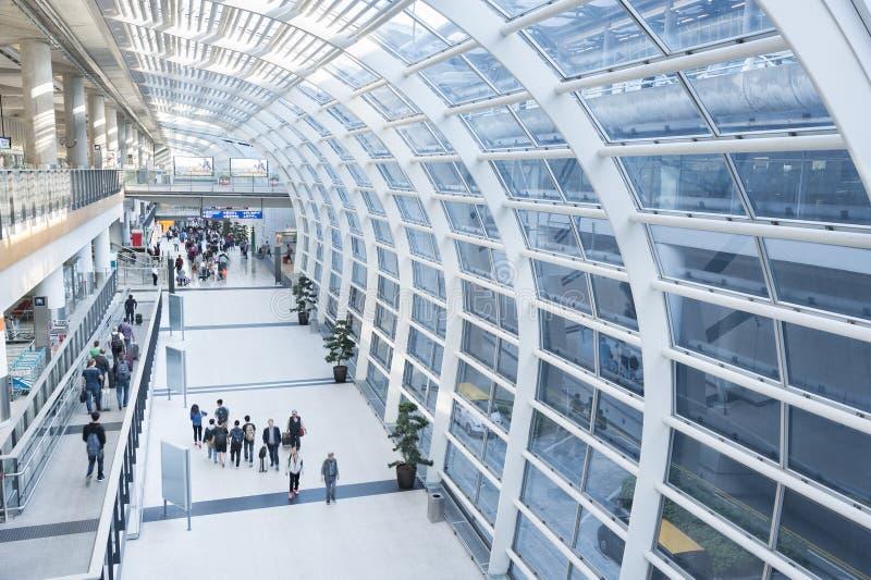 Aeroporto de Hong Kong fotos de stock royalty free