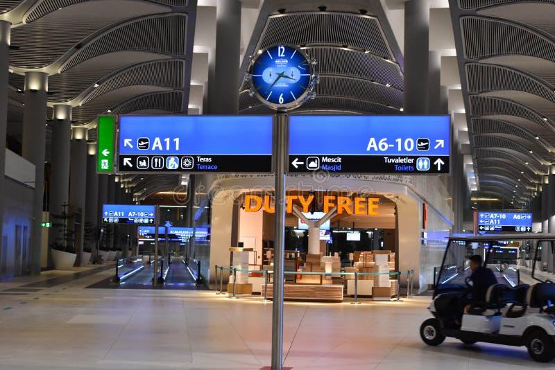 Aeroporto de Istambul fotos de stock