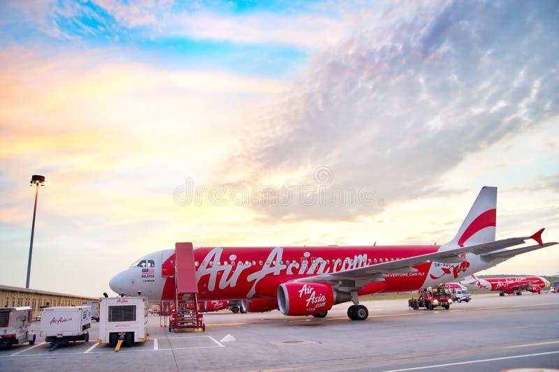 Aeroporto de Kuala Lumpur imagem de stock