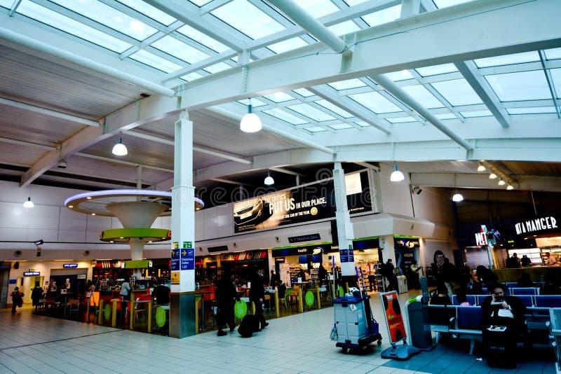Aeroporto de Londres Luton imagem de stock royalty free