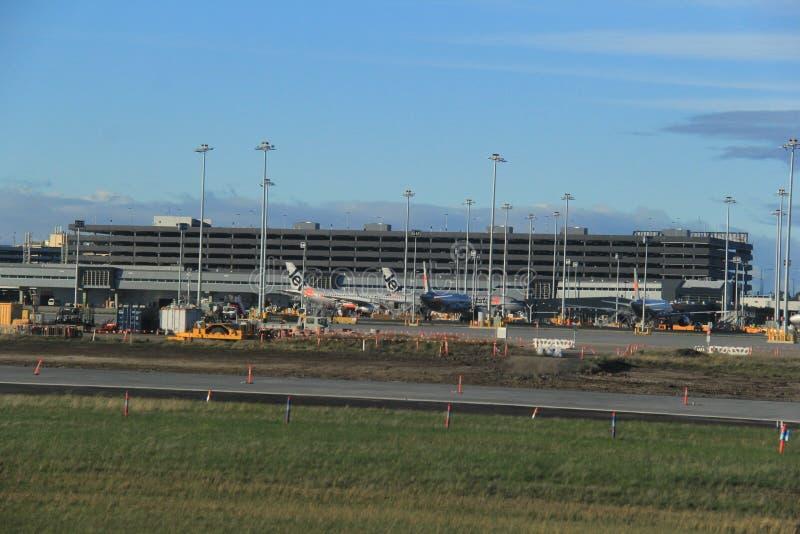 Aeroporto de Melbourne foto de stock royalty free