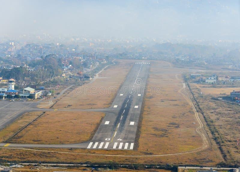 Aeroporto de Pokhara imagens de stock