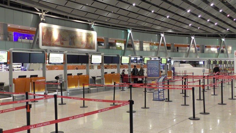 Aeroporto de Yerevan fotos de stock royalty free