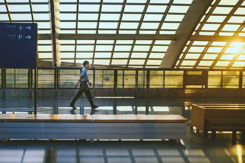 Aeroporto del capitale di Pechino fotografie stock libere da diritti