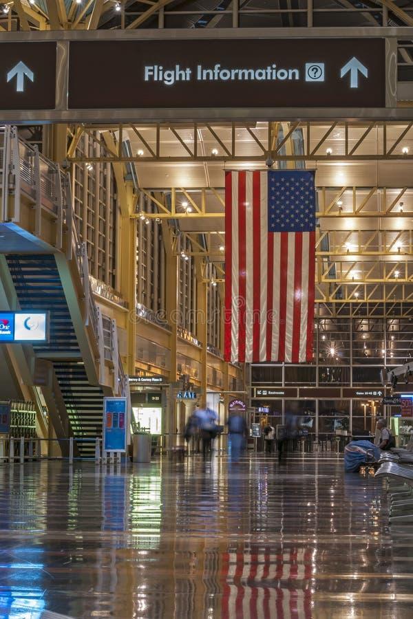 Aeroporto del DCA fotografie stock