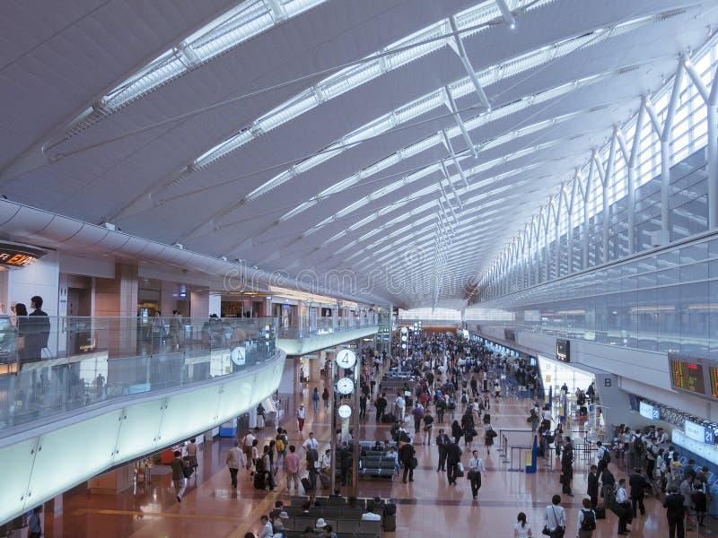Aeroporto del Haneda, Tokyo fotografie stock libere da diritti