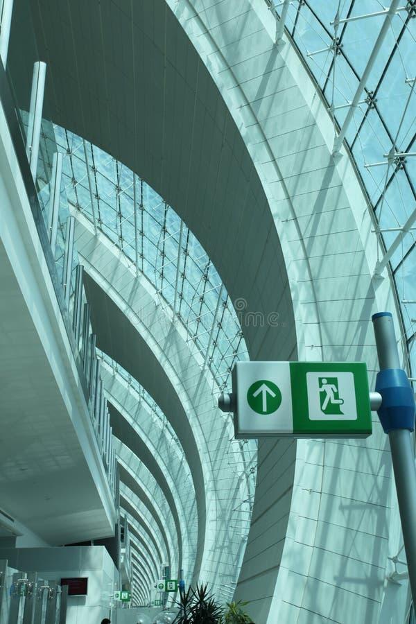 Aeroporto della Doubai fotografia stock libera da diritti