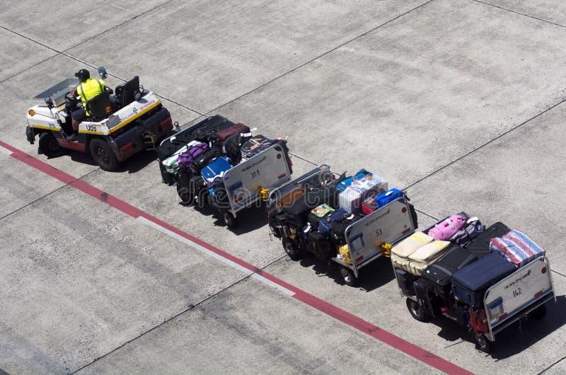 Aeroporto di Auckland - Nuova Zelanda immagine stock
