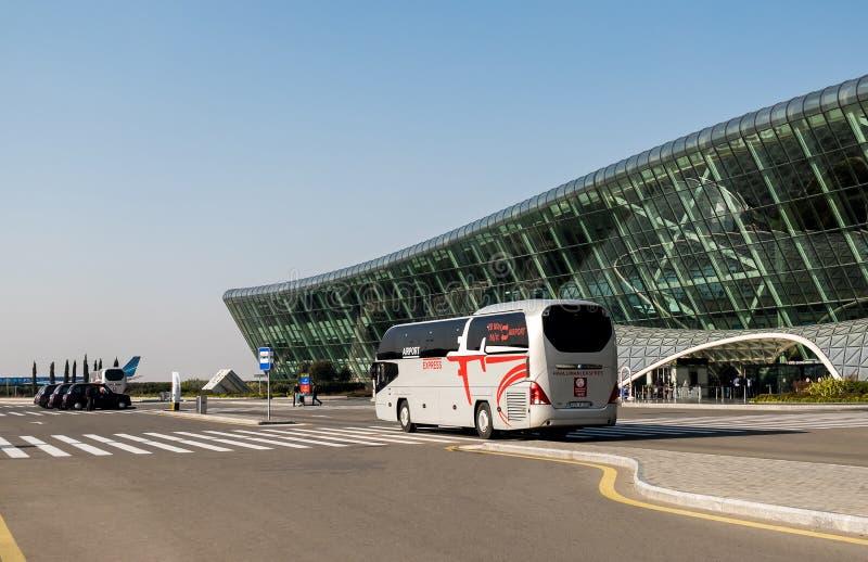 Aeroporto di Bacu fotografie stock