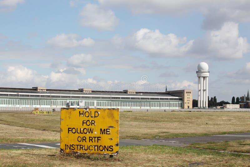 Aeroporto di Berlin Tempelhof immagini stock