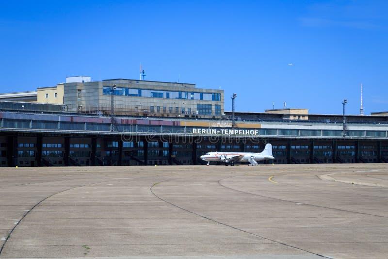Aeroporto di Berlin Tempelhof fotografia stock libera da diritti