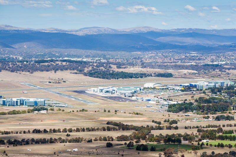 Aeroporto di Canberra fotografia stock