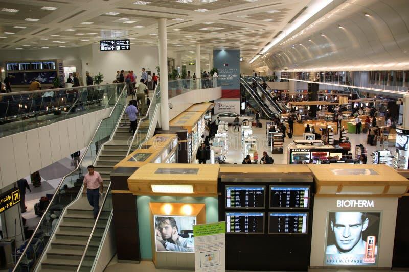 Aeroporto di Doha immagine stock