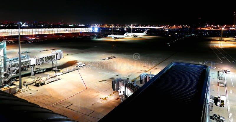 Aeroporto di Haneda a Tokyo nel Giappone fotografia stock libera da diritti
