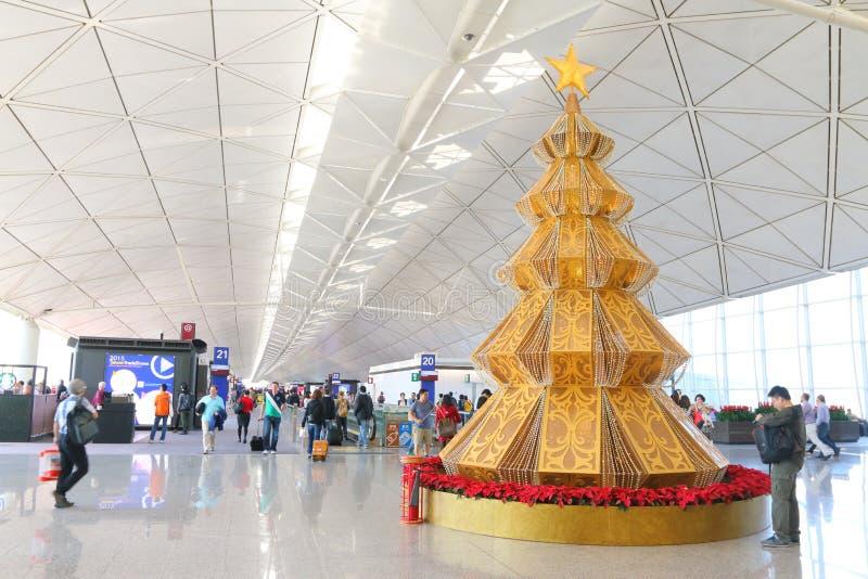 Aeroporto di Hong Kong Int'l fotografia stock libera da diritti