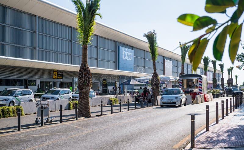 Aeroporto di Ibiza fotografia stock libera da diritti