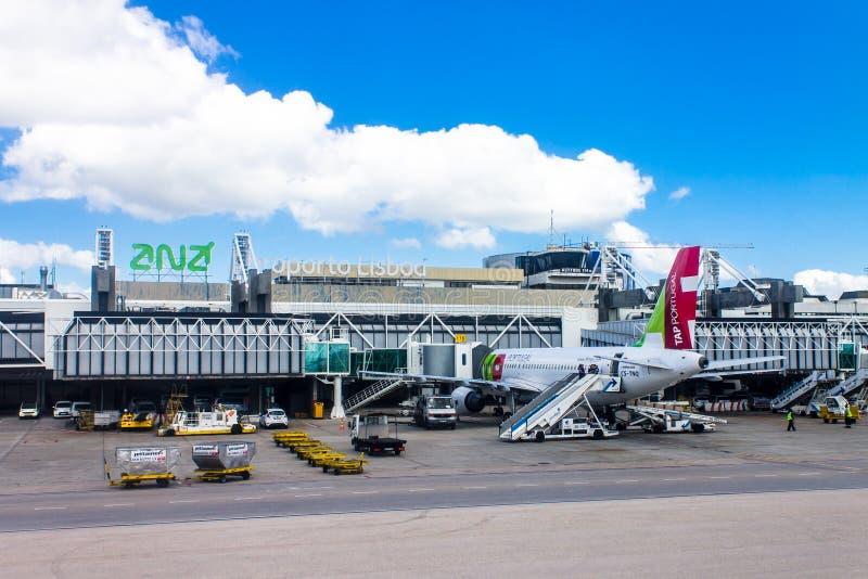 Aeroporto Lisbona : Aeroporto di lisbona immagine editoriale