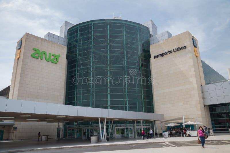 Aeroporto Lisbona : Aeroporto di lisbona portogallo fotografia stock