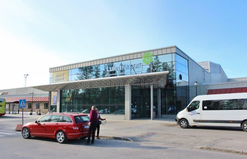 Aeroporto di Luleå immagini stock
