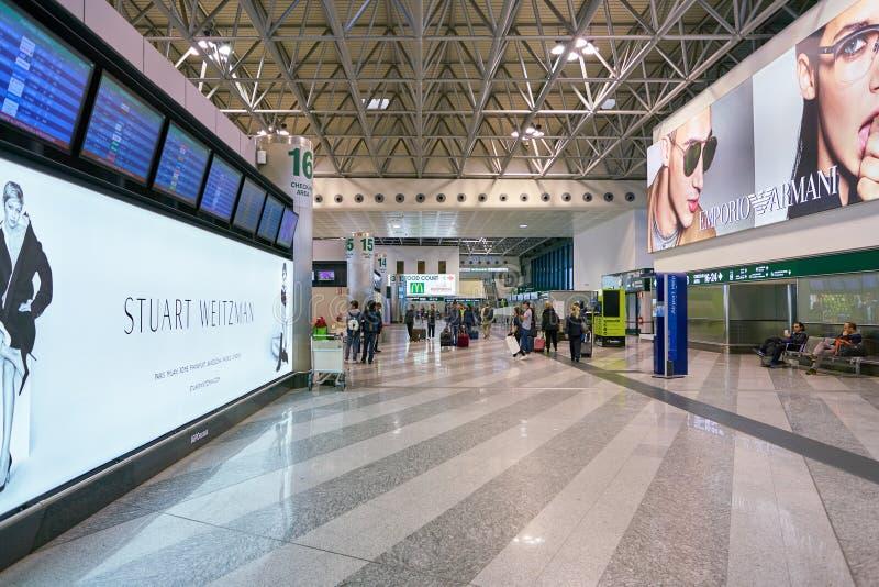 Aeroporto di Malpensa fotografie stock libere da diritti