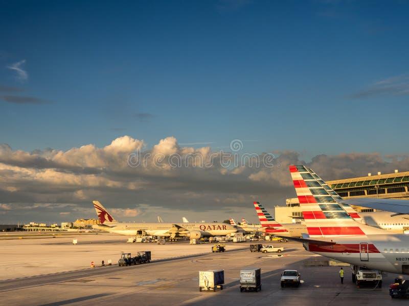 Aeroporto di Miami fotografie stock