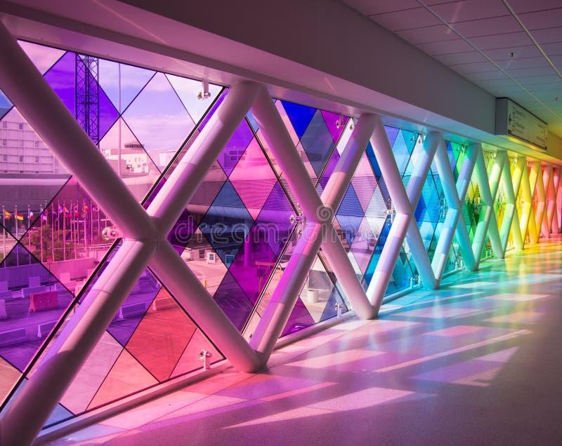 Aeroporto di Miami, Florida immagini stock