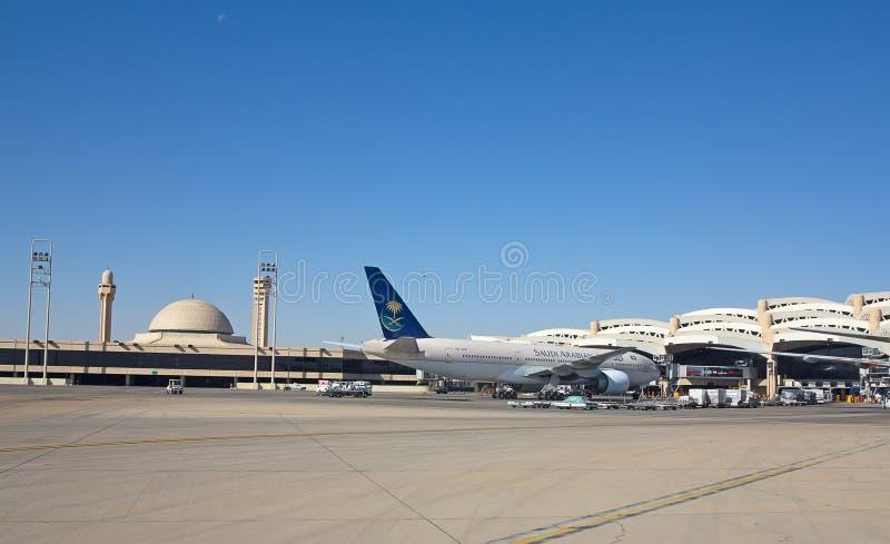 Aeroporto di Riyad fotografia stock