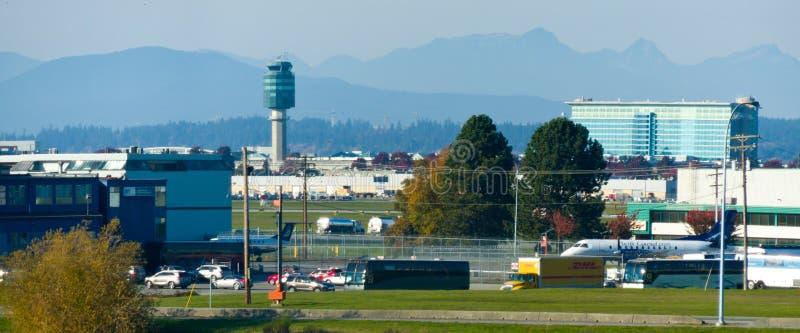 Aeroporto di Vancouver immagini stock