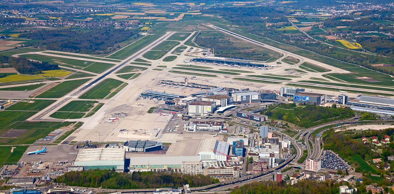 Aeroporto Zurigo Mappa : Aeroporto di zurigo fotografia editoriale immagine