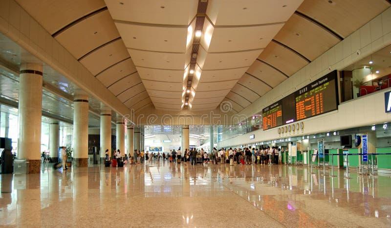Aeroporto do Dalian foto de stock royalty free