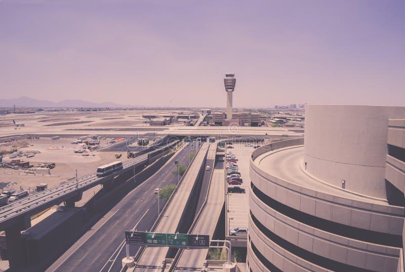 Aeroporto do porto do céu de Phoenix, 5,28,2016; foto de stock royalty free