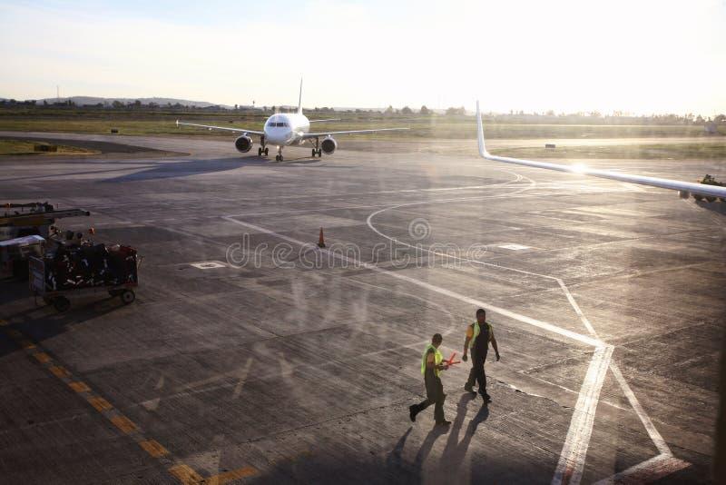 Aeroporto em Tijuana, México fotografia de stock