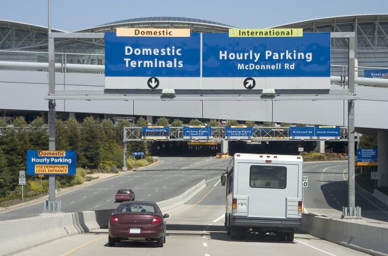 Aeroporto Enty imagem de stock