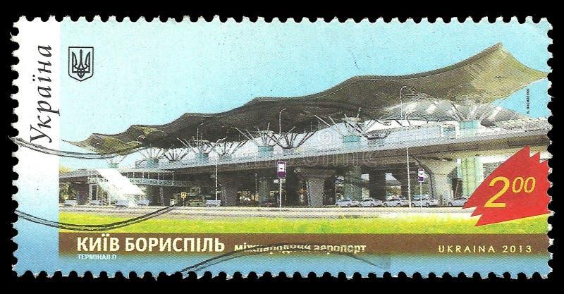 Aeroporto internacional Borispol imagem de stock