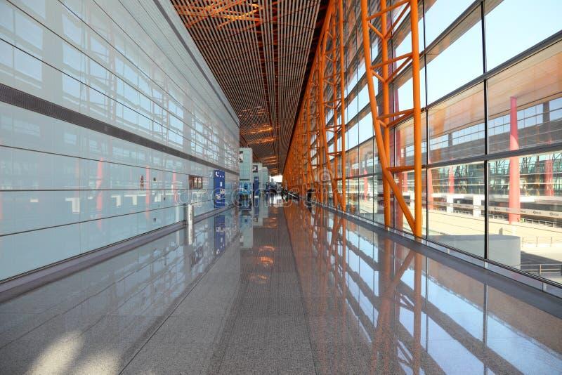 Aeroporto internacional de Beijing imagem de stock royalty free