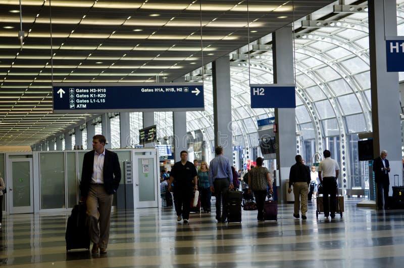 Aeroporto internacional de Chicago O'Hare fotos de stock royalty free