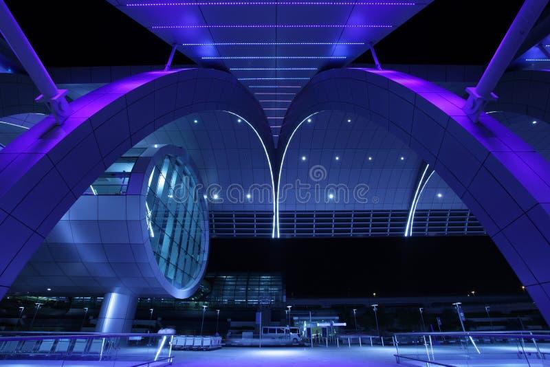 Aeroporto internacional de Dubai fotografia de stock royalty free