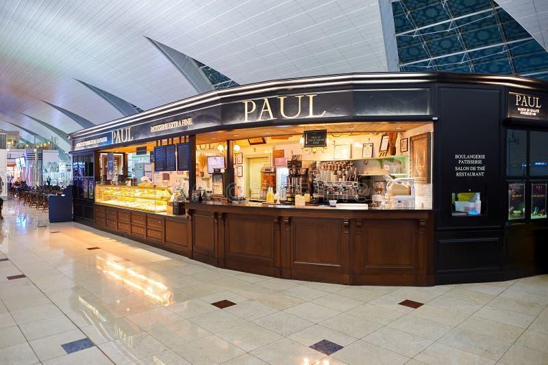 Aeroporto internacional de Dubai fotografia de stock