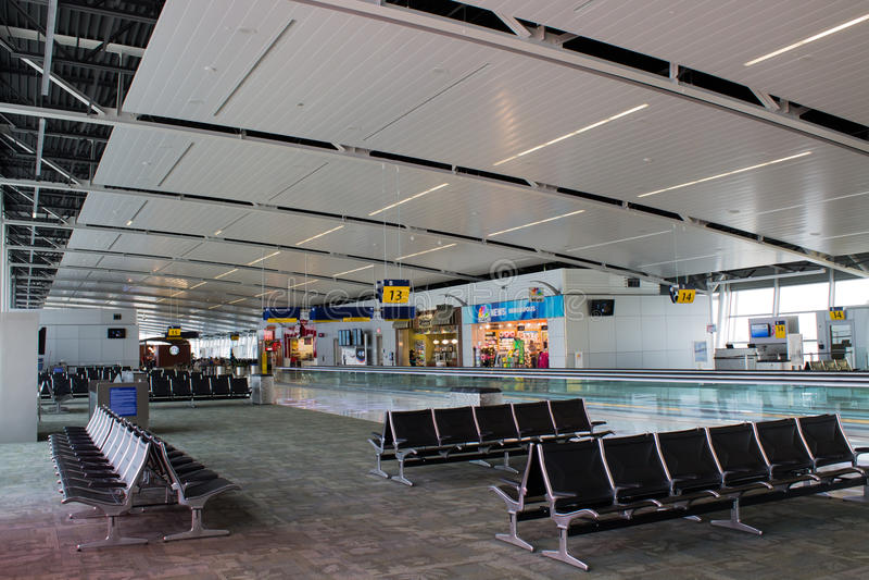 Aeroporto internacional de Indianapolis (IND) imagens de stock royalty free
