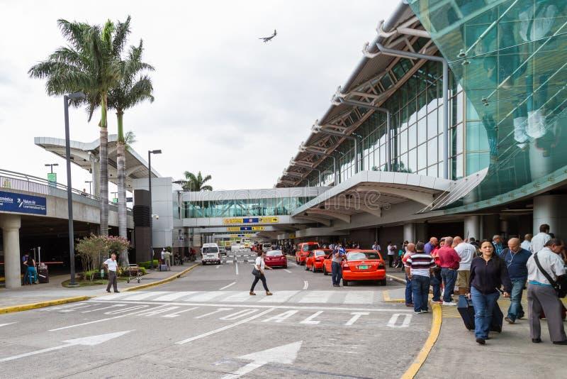 Aeroporto internacional de Juan Santamaria, Costa Rica foto de stock royalty free