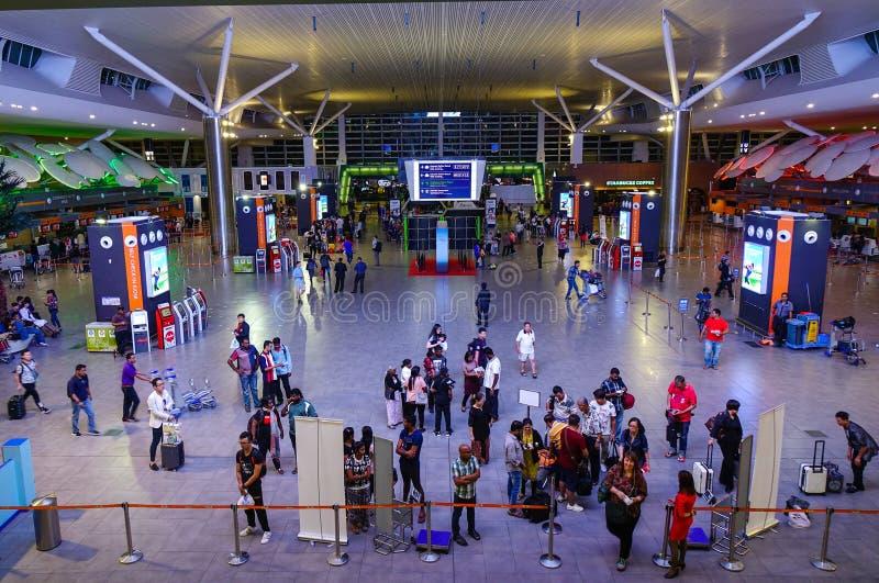 Aeroporto internacional de Kuala Lumpur foto de stock