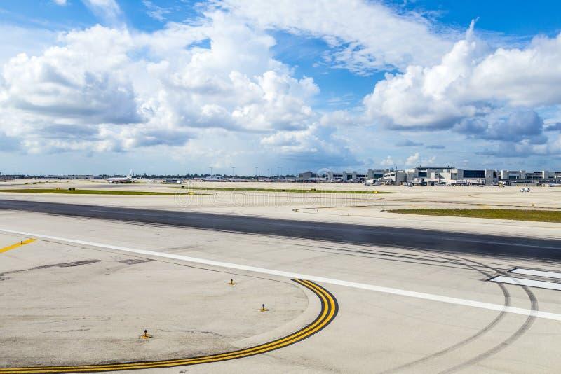 Aeroporto internacional de Miami imagem de stock royalty free