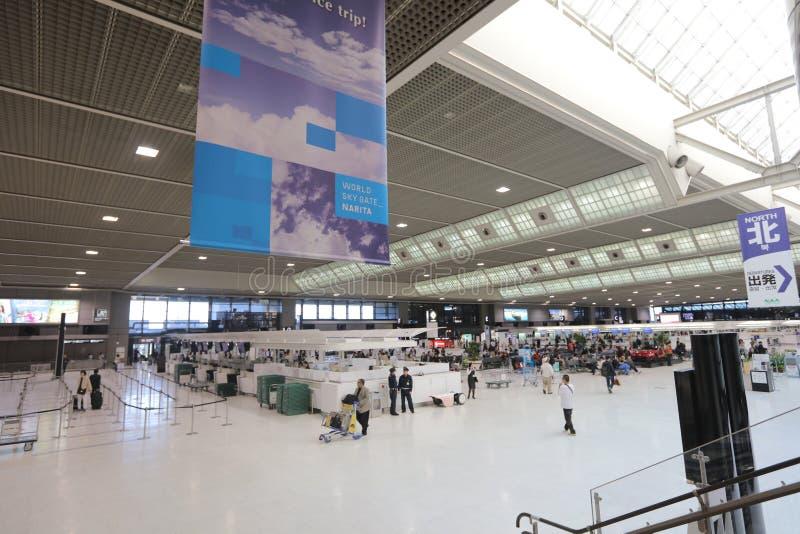 Aeroporto internacional de Narita imagem de stock
