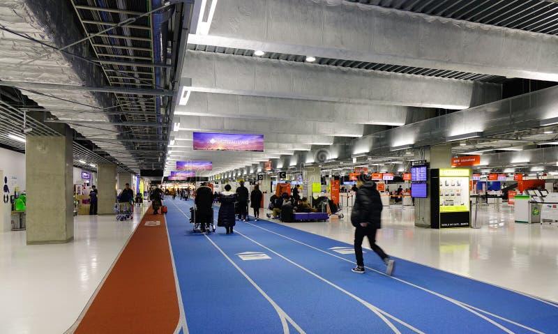 Aeroporto internacional de Narita no Tóquio, Japão fotos de stock