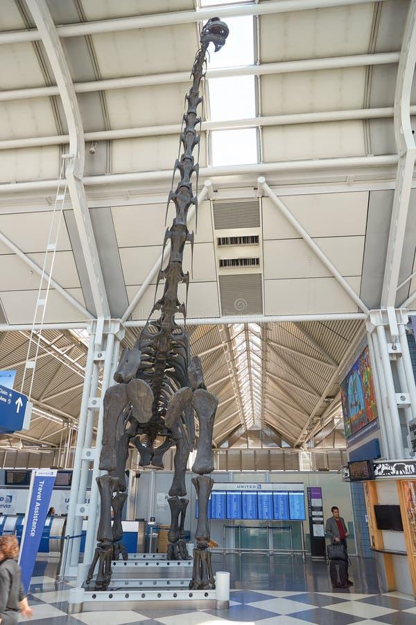 Aeroporto internacional de O'Hare fotos de stock