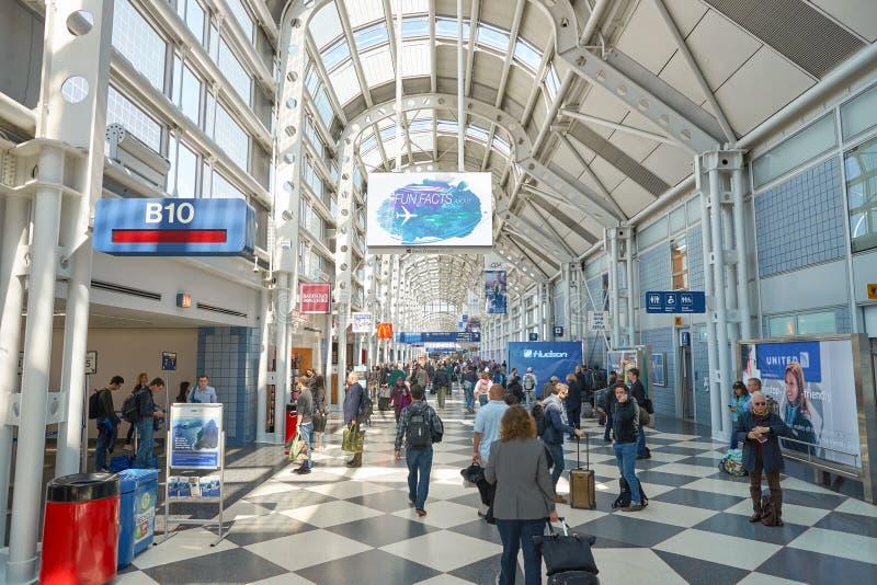 Aeroporto internacional de O'Hare imagens de stock