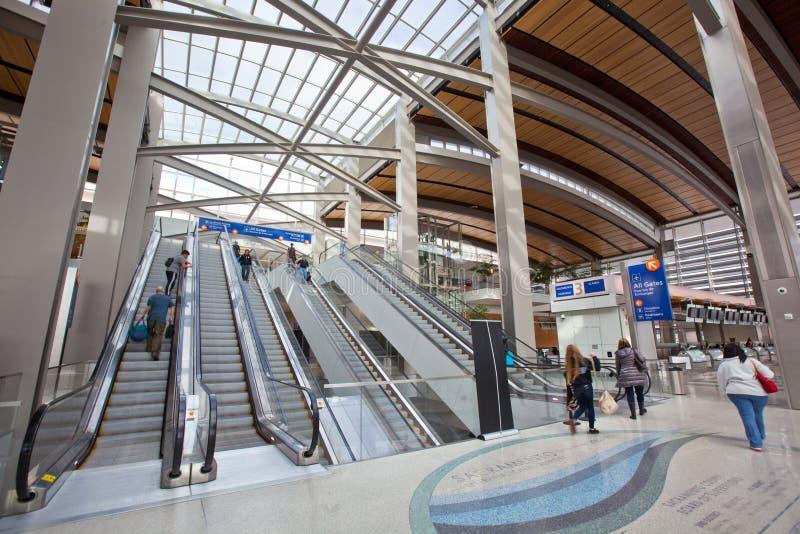 Aeroporto internacional de Sacramento fotos de stock