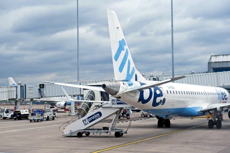 Aeroporto internazionale di Birmingham fotografie stock libere da diritti