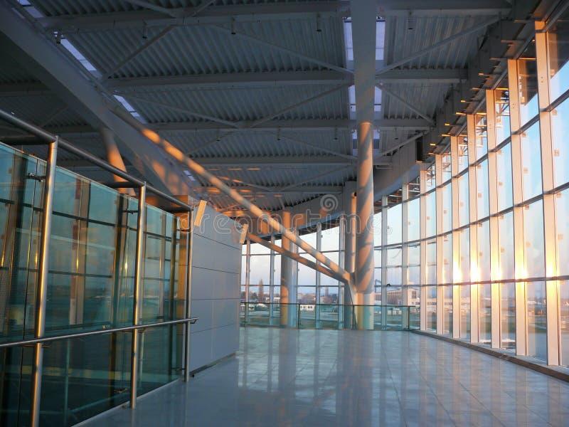Aeroporto internazionale di Bucarest Otopeni fotografia stock libera da diritti